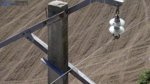 detalle 2 línea media tensión drones